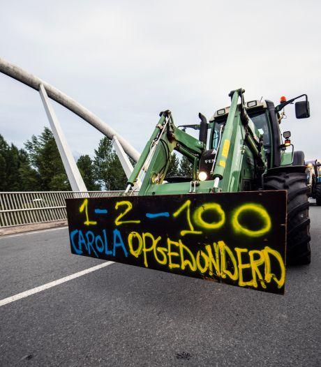 Boerengroep FDF vreest chaos door trekkerverbod Utrecht: 'Nu hebben we er geen vat meer op'