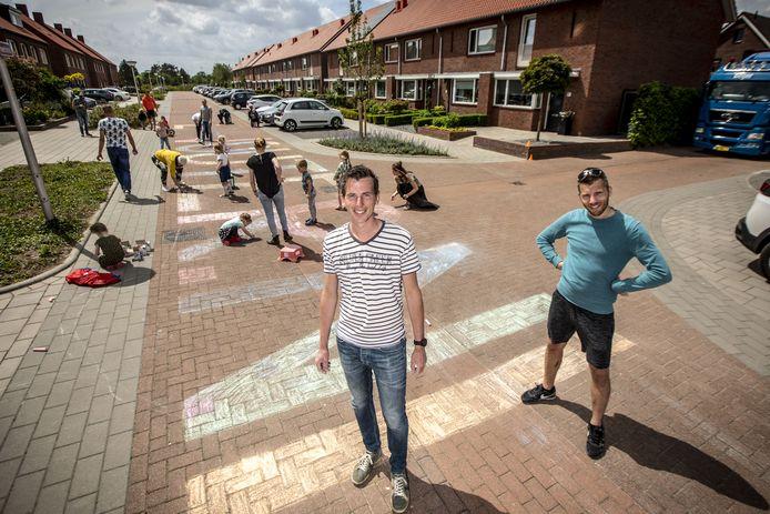 Wouter Hofste (links) op de foto samen met zijn broer Maarten: