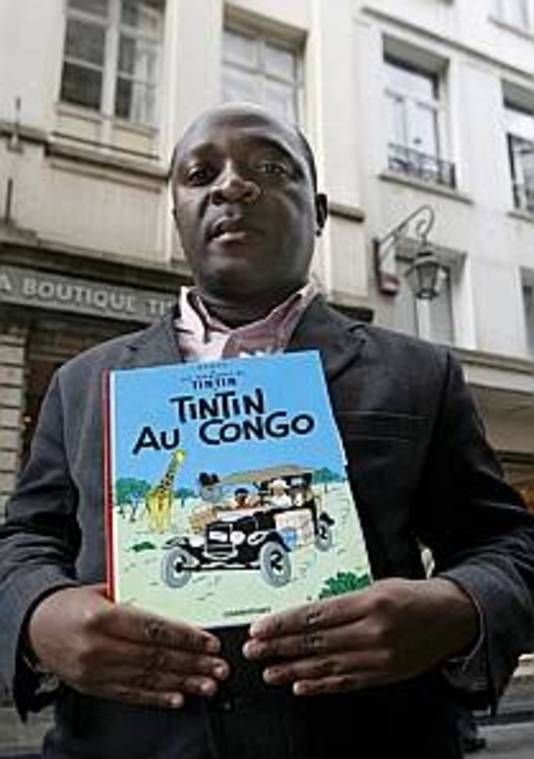 De Congolese student Bienvenu Mbuto Mondondo wilde dat het album werd verboden, omdat het racistisch zou zijn.