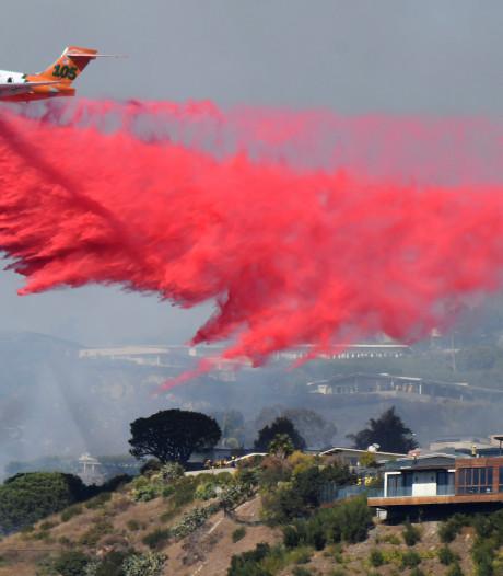 Miljoenenvilla's Los Angeles bedreigd door uitslaande bosbrand