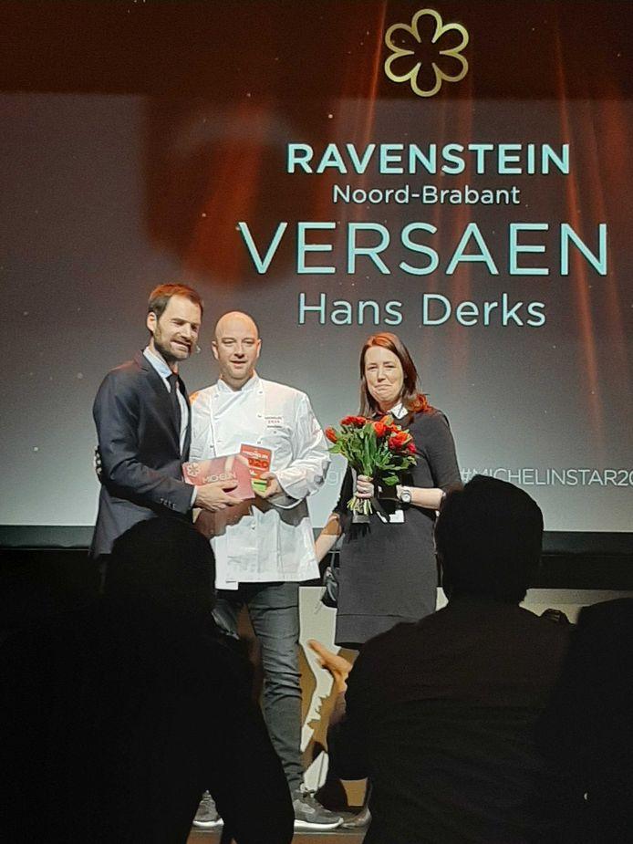 Eerste Michelinster voor Versaen in Ravenstein.
