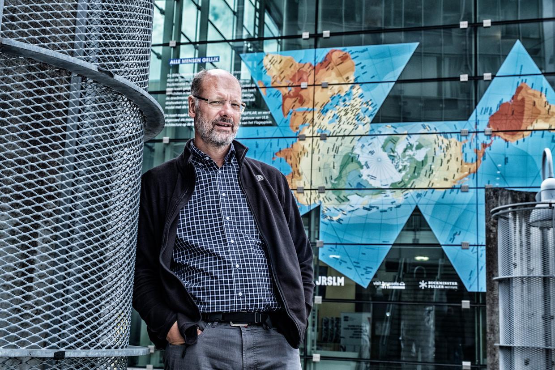 Klimaatwetenschapper Philippe Huybrechts. Beeld Tim Dirven