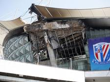 Grote brand in stadion Shanghai Shenhua
