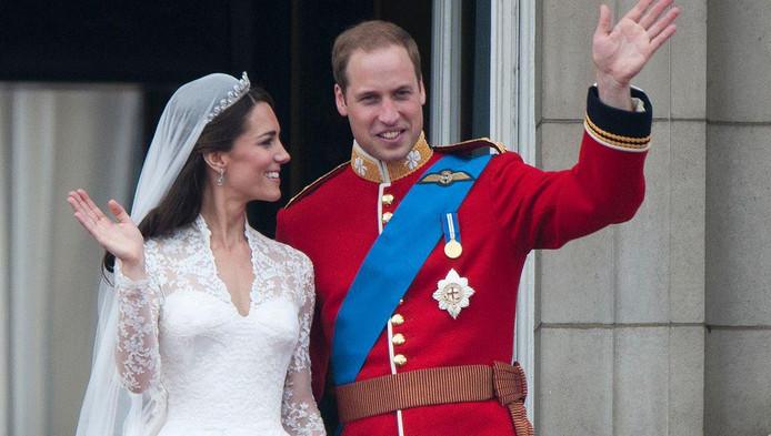 Le prince William et Kate Middleton se sont mariés en avril 2011.