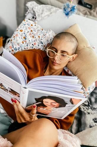 """COLUMN. Lara Switten (35), mama van 3 die strijdt tegen kanker. """"Ik ben een harde tante, altijd geweest. Maar ik ben op"""""""