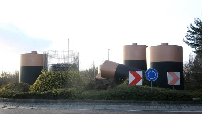 Vanaf dinsdag is rotonde Ter Heidelaan vier maanden volledig afgesloten