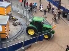 Bekende boerenactivist (30) zat in trekker die levensgevaarlijke situatie veroorzaakte, politie rekent op arrestaties
