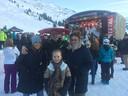 De familie Bakker uit Nijkerk in het plaatsje Jerzens in het Pitztal in Oostenrijk, waar ze een pension runt.