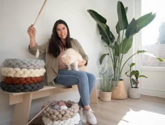 """Tine start eigen zaak 'Happy George' in zoektocht naar mooie kattenspullen: """"Alles is handgemaakt en milieuvriendelijk"""""""