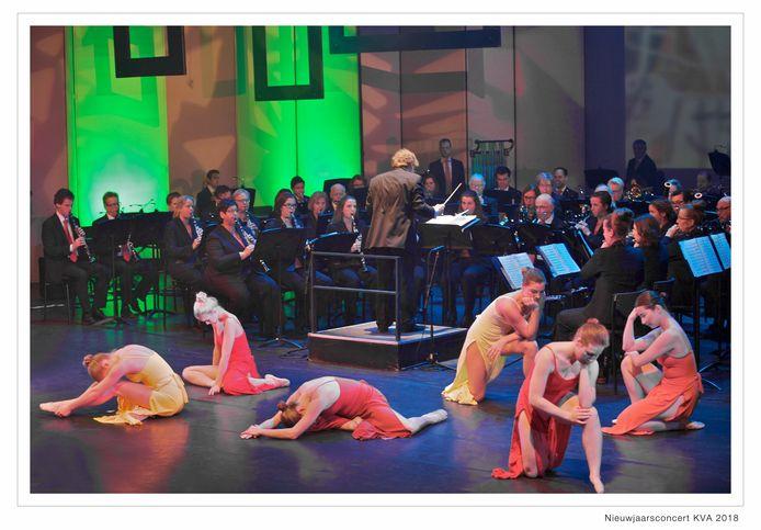 Met het Nieuwjaarsconcert op 5 januari luidde Stadsharmonie KVA in Oss het jubileumjaar in.