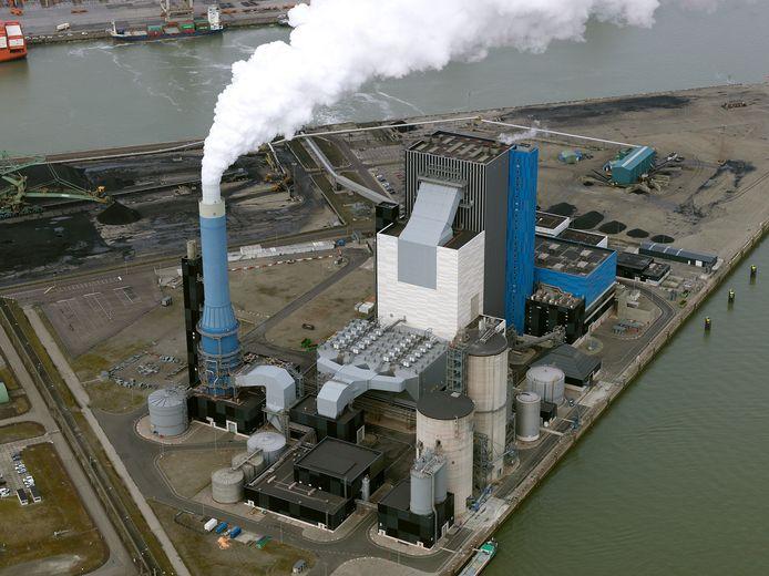 De Onyx Power Plant op de Maasvlakte.