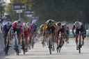 David Dekker werd zondag al knap tweede in de sprint achter Mathieu van der Poel.