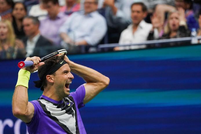 Grigor Dimitrov s'est qualifié pour la première fois de sa carrière pour les demi-finales d'un Grand Chelem. Il affrontera Medvedev pour une place en finale de l'US Open.