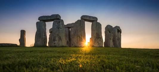 Stonehenge nabij Amesbury in Engeland.