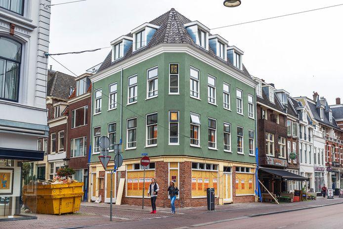 Hoek Lange Jansstraat- Jansveld in de nieuwe situatie.