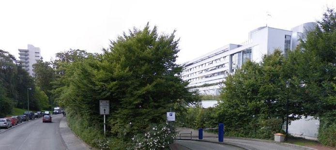 Een deel van het universitair ziekenhuis in Essen bij Duisburg en Oberhausen.