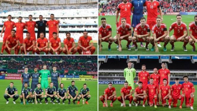 """De redenen achter de bizarre ploegfoto's van Wales: """"Het sloeg echt nergens op"""""""
