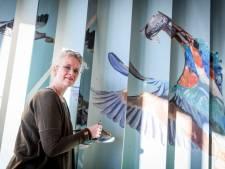 Janet Timmerije maakt welkomstkunst voor Eibergen: 'Het is een ingewikkeld ding'