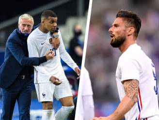 Rel(letje) bij de Fransen: Mbappé in wiek geschoten na uitspraken Giroud, Deschamps moet situatie ontmijnen
