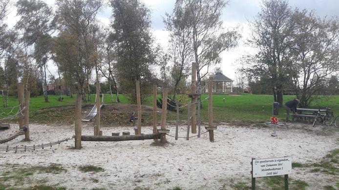 Park De Kiosk in Wezel ondergaat in het najaar een metamorfose.