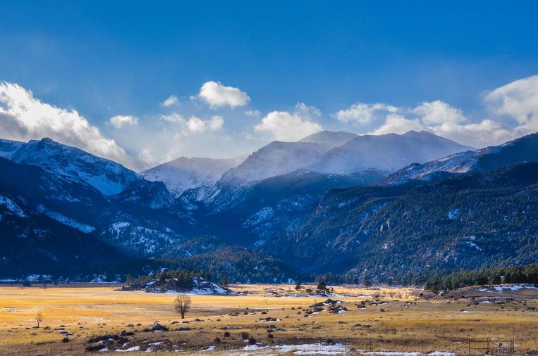 Aspen Mountains, Colorado. Beeld thinkstock