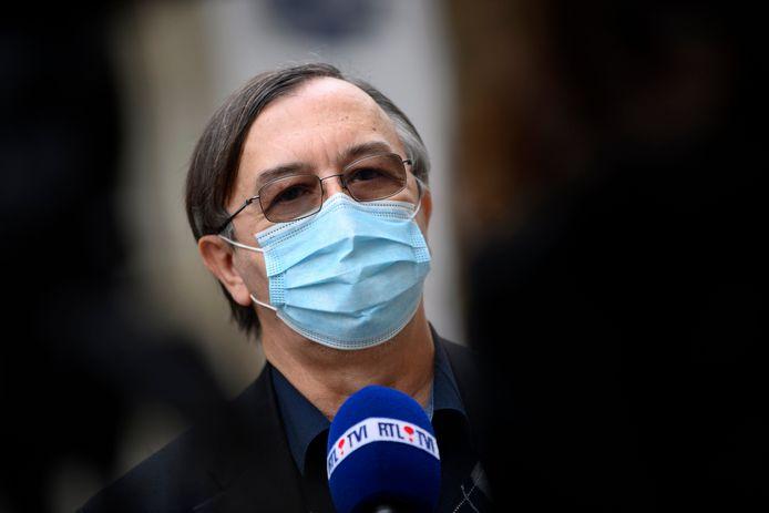 Yves Van Laethem, porte-parole interfédéral Covid-19