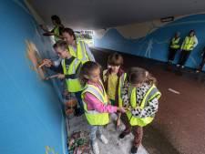 Van jampotje tot Flipje: vier fietstunnels verfraaid met Tielse kunst