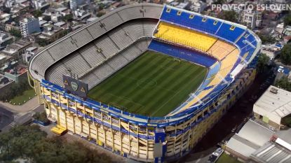 Ontdek 'La Bombonera 360', het waanzinnige plan voor een extra tribune in het iconische stadion van Boca Juniors