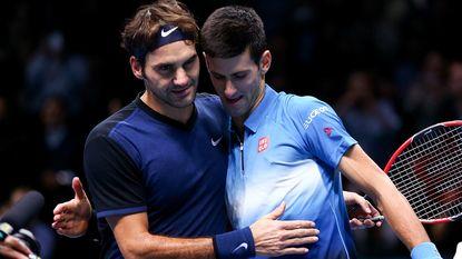 Djokovic brengt onderlinge balans met Federer op 22-22