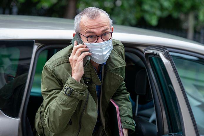 Le ministre fédéral de la Santé publique Frank Vandenbroucke.