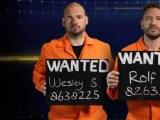 Vluchtende Wesley Sneijder, Rolf Sanchez en Katja Schuurman openen Het Jachtseizoen op tv