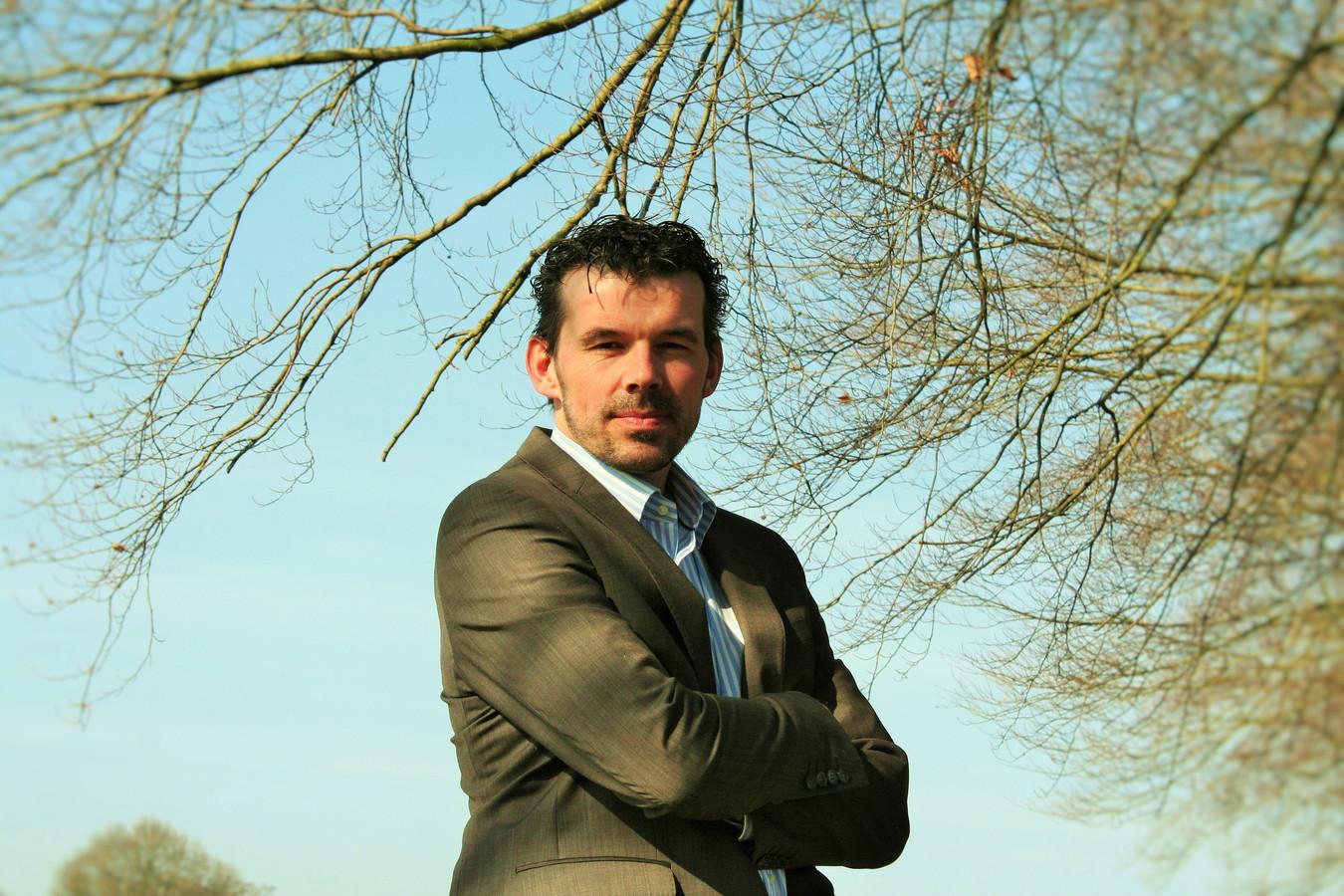 D66-fractievoorzitter in Rijssen-Holten, Herman Klein Velderman , wil niet dat het spreekrecht wordt ingeperkt.
