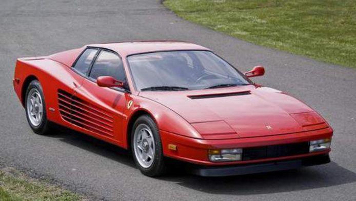 De iconische Ferrari Testarossa.