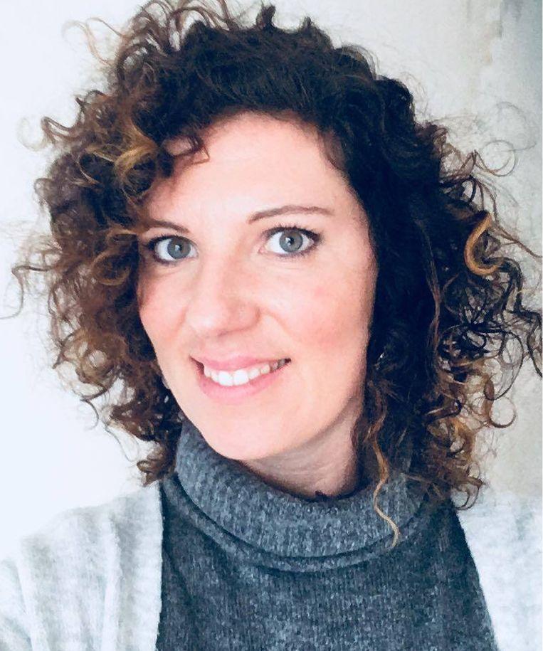 Sofie D'hulster: 'De combinatie van die slechte omstandigheden, de nakende ontruiming en het vooruitzicht van herfst en winter verhoogt het stressniveau en dan nemen mensen drastische beslissingen.' Beeld RV