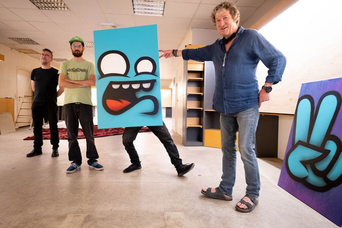 Peter Everaert (rechts op deze archieffoto) wint de Lierse cultuurprijs 2020.