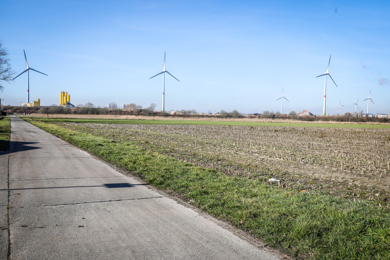 Er was al eerder protest tegen de bouw van een nieuwe windmolen in Kruisabele.