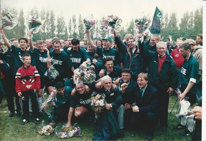 Scheveningen kampioen in het jaar 1996. Foto: Arjan de Jager