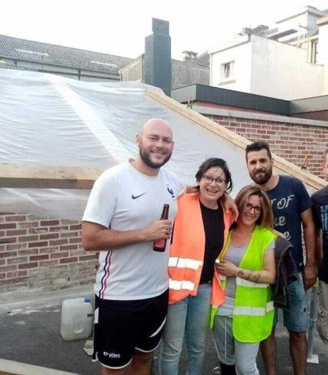 """Nico a mis son tour d'Europe sur pause pour aider les personnes sinistrées à Liège: """"C'était le minimum que je pouvais faire"""""""