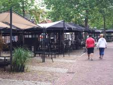 Horeca op het Spuiplein in Bunschoten wil dat tijdelijke terrassen blijven staan en start petitie