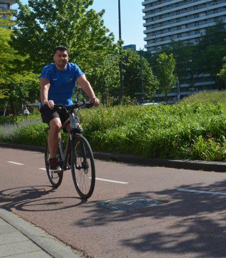 Scheveningse fitness instructeur Maurice Groen: 'Die instelbare vering is erg handig'