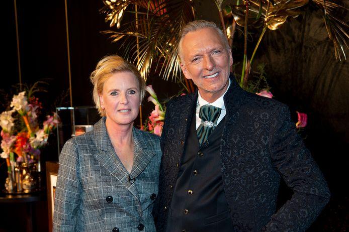 Erica Renkema met Martien Meiland.