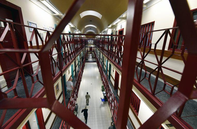 De gevangenis van Antwerpen. Beeld BELGA
