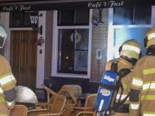 Café 't Fust in Vianen rest van de week dicht na brandstichting