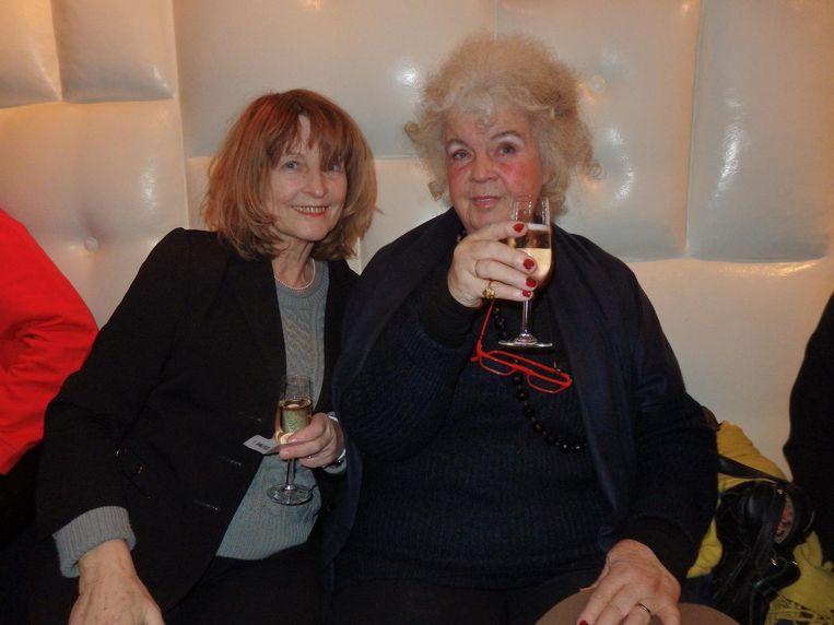 Regisseur Guusje Prent en Elsie Kanteman ('Schilder, schrijver, alles.'): 'Ik wil jouw baan. Ik ben de leukste van Amsterdam. Want ik ben oud, dus schaamteloos' Beeld Schuim