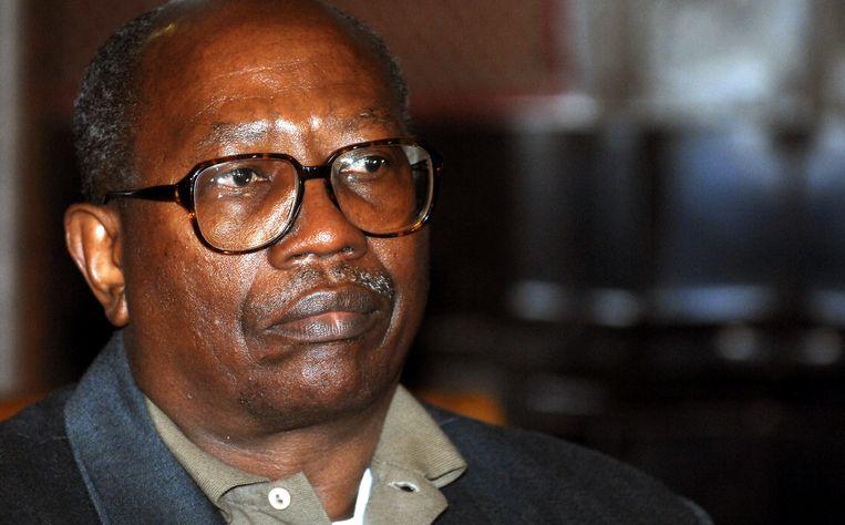 Bernard Ntuyahaga in de rechtbank in 2007.