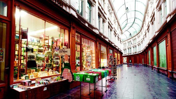 De Passage de la Bourse: een belle-époquewinkelgalerij die niet moet onderdoen voor de Sint-Hubertusgalerijen in Brussel.
