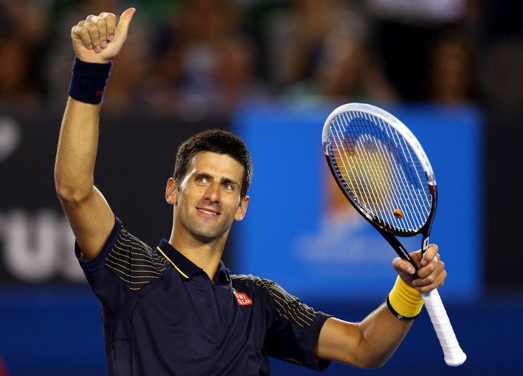 Djokovic. Beeld getty