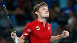 Wat een stunt! Fantastische Goffin verslaat 's werelds nummer 1 Nadal op ATP Cup