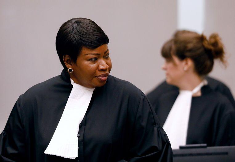 ICC-aanklager Fatou Bensouda Beeld REUTERS