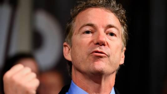De Republikein Rand Paul stapt uit de race naar het Witte Huis.